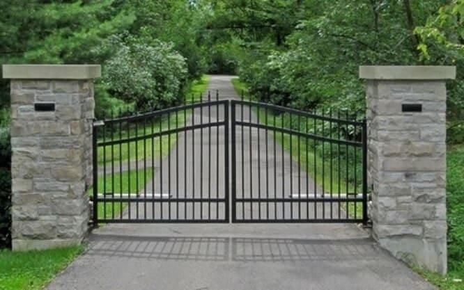 """Контроль ворот с помощью системы """"умный дом"""""""