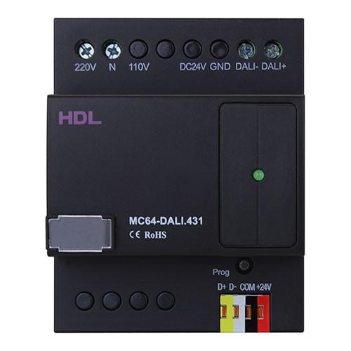 DALI. HDL-MC64-DALI.431-64-channel